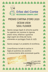premio cartina d'oro ocean view